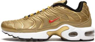 Nike Plus TN SE BG Metallic Gold/University Red