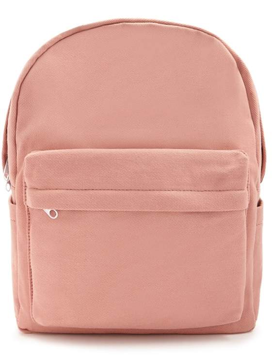 Forever 21 Woven Contrast Backpack