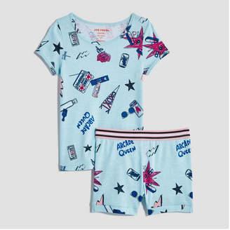 Joe Fresh Kid Girls' Short Sleeve Sleep Set