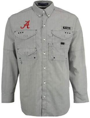 Columbia Men's Alabama Crimson Tide Super Bonehead Long Sleeve Shirt