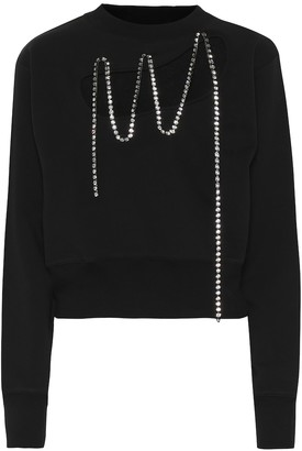Christopher Kane Embellished cotton sweater