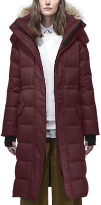 Canada Goose Lunenberg Long Parka w/ Fur Trim & Removable Hood