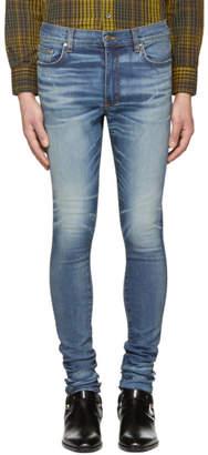 Amiri Indigo Stack Jeans