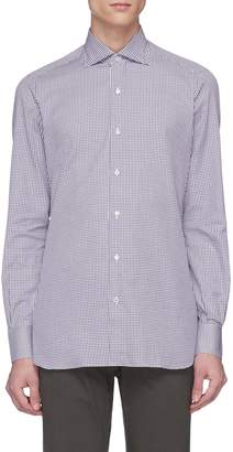 Isaia Gingham check shirt