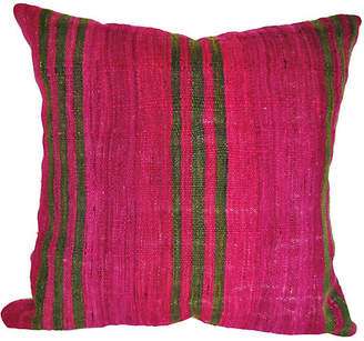 One Kings Lane Vintage Custom Moroccan Wool Pillow