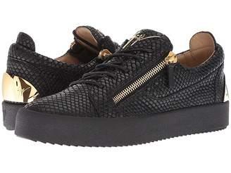 Giuseppe Zanotti May London Heel Plate Low Top Sneaker