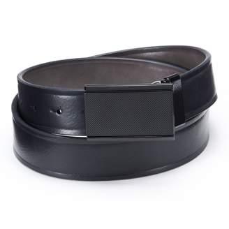 Apt. 9 Matte Plaque Reversible Leather Belt - Men