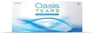 Oasis TEARS Lubricant Eye Drops, One 30 Count Box Sterile Disposable Containers, 0.3ml/0.01 fl oz $25.49 thestylecure.com