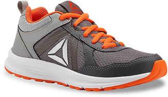 Reebok Almotio 4.0 Toddler & Youth Sneaker -Grey/Orange - Boy's