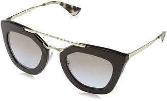 Prada Women's Gradient PR09QS-1AB0A7- Cat Eye Sunglasses