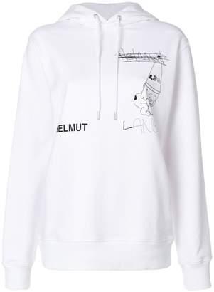 Helmut Lang Puppy hoodie