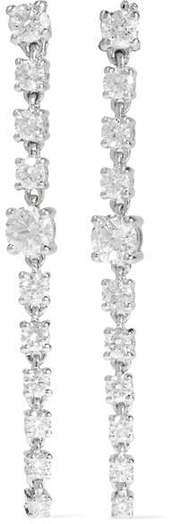 Anita KoAnita Ko - 18-karat White Gold Diamond Earrings - one size
