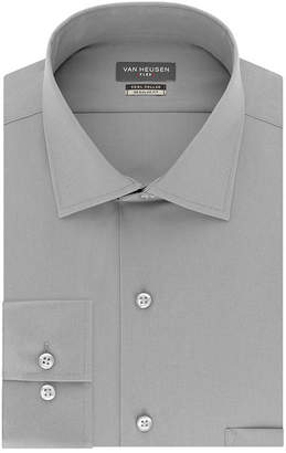 Van Heusen Flex Cool Collar Long Sleeve Twill Dress Shirt
