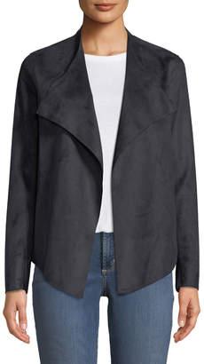 NYDJ Drapey Faux-Suede Jacket