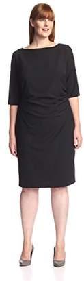 Society New York Women's Ruched Dress