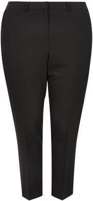 Dorothy Perkins Womens **Dp Curve Black Elastane Ankle Grazer Trousers