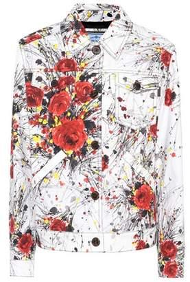 Prada Exclusive to mytheresa.com – printed denim jacket
