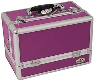 Craft Accents 3-Tiers Expandable Trays Makeup Case