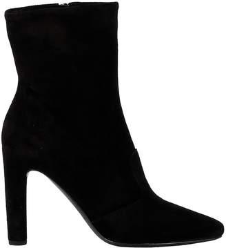 Roberto Del Carlo Black Suede Ankle Boots