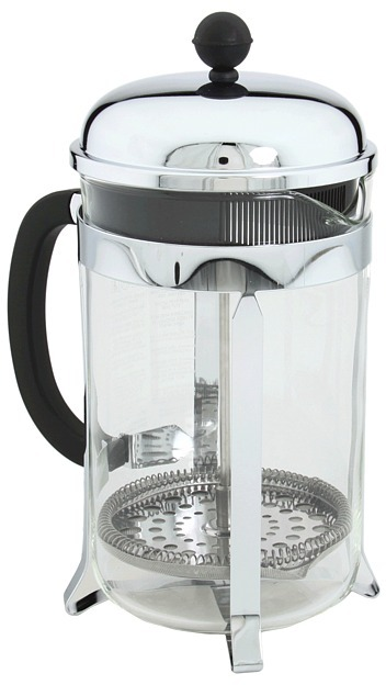 Bodum Chambord French Press Coffee Maker - 12 cup (Silver) - Home