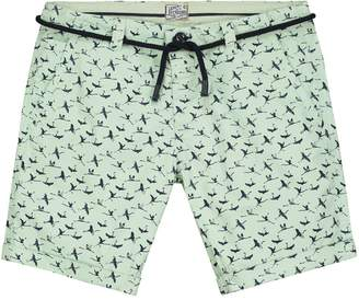 DSTREZZED - Flamingo Belt Chino Shorts
