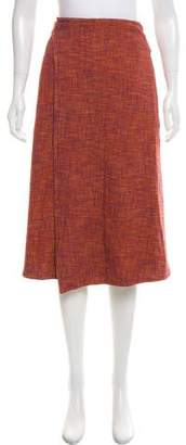Creatures of Comfort Woven Midi Skirt w/ Tags