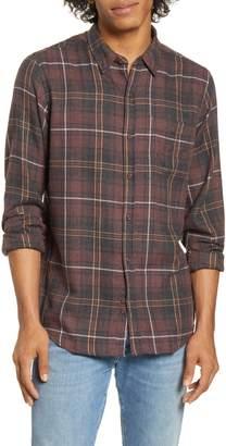 Hurley Kurt Plaid Button-Up Flannel Shirt