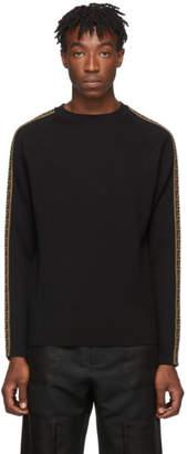 Fendi Black Forever Side Stripe Sweater