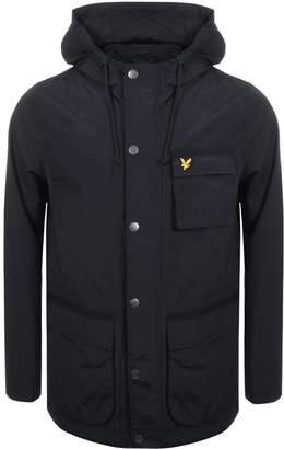 parajumpers full zip hooded abel jacket black