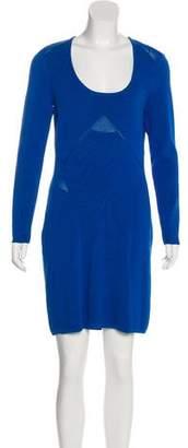 Yigal Azrouel Cut25 by Long Sleeve Mini Dress