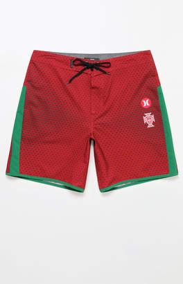 "Hurley Phantom Portugal National Team 18"" Boardshorts"