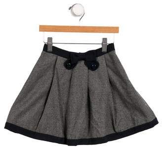Little Marc Jacobs Girls' Flared Colorblock Skirt.