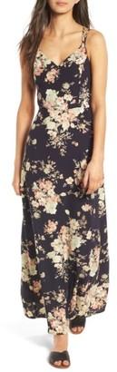 Women's Soprano Floral Strappy Back Maxi Dress $49 thestylecure.com