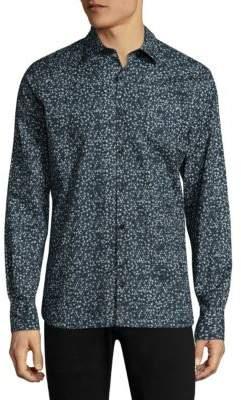 J. Lindeberg Daniel Season-Print Button-Down Shirt