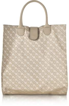 Gherardini Signature Coated Canvas Softy Foldable Tote Bag