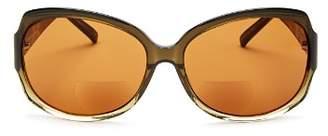 Corinne McCormack Elizabeth Round Reader Sunglasses, 60mm