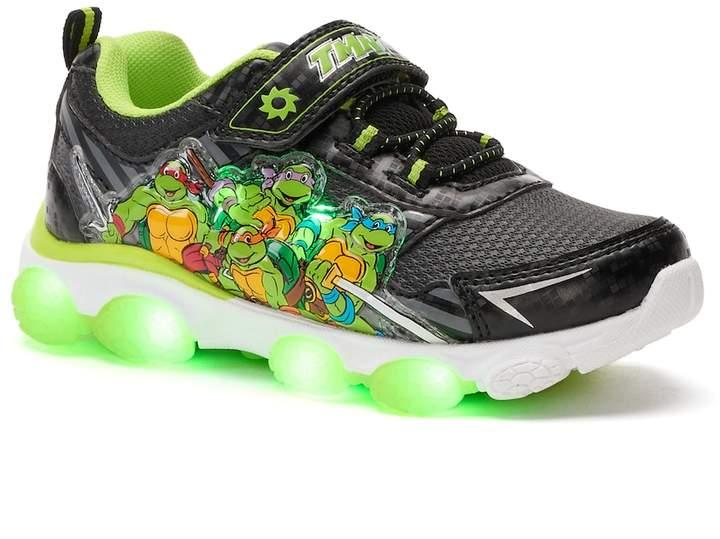 Teenage Mutant Ninja Turtles Toddler Girls' Light-Up Sneakers