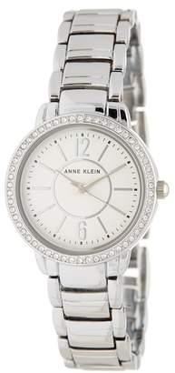 Anne Klein Women's Swarovski Crystal Bracelet Watch, 28mm