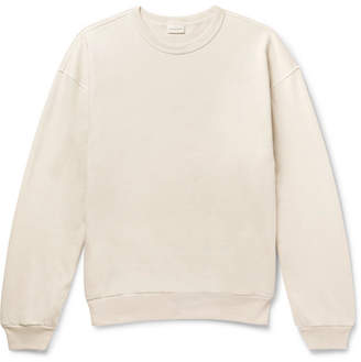 Dries Van Noten Huxton Oversized Loopback Cotton-Jersey Sweatshirt
