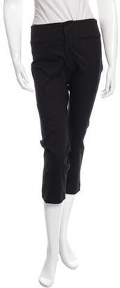 Yohji Yamamoto Cropped Mid-Rise Pants w/ Tags $145 thestylecure.com