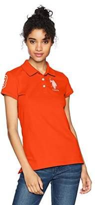 U.S. Polo Assn. Women's Neon Logos Short Sleeve Shirt