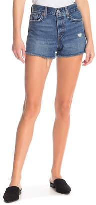 Levi's Wedgie High Rise Jean Shorts