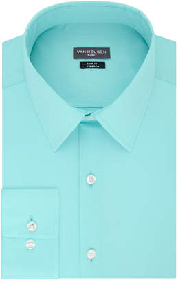 Van Heusen Made To Match Long Sleeve Twill Dress Shirt - Slim