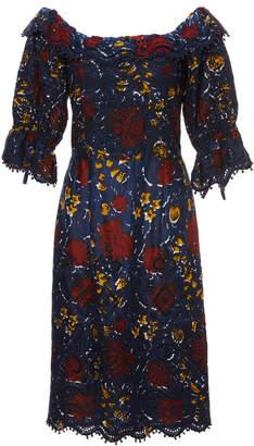 Sea Willow cotton ruffle dress
