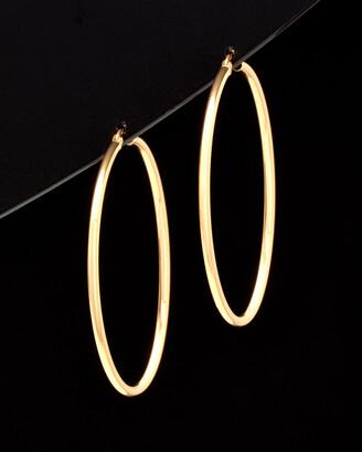 Italian Gold 14K Hoops