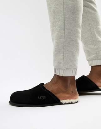 UGG Scuff slippers in black suede