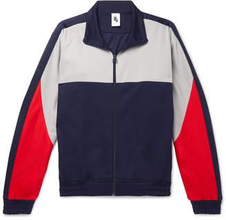 Nike Martine Rose Colour-Block Tech-Jersey Track Jacket