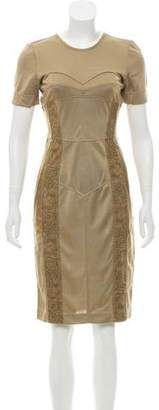 Burberry Knee-Length Sheath Dress