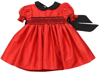 Couture Classy Hand-Smocked Christmas Dress