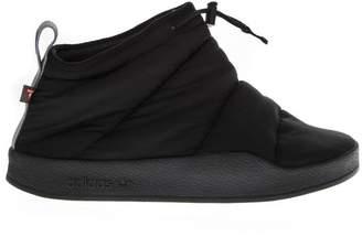 adidas Black Padded Nylon Sneakers